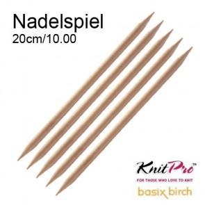 KnitPro Strickspiel (5) 20cm/10