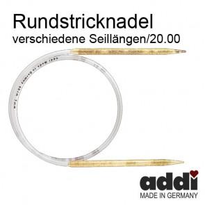 Rundstrickndl.ADDI Glitter 20