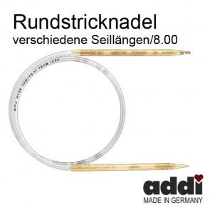 Rundstrickndl.ADDI Glitter 8
