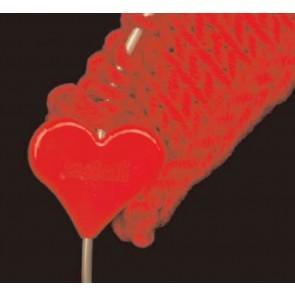 Maschenfix  Herz  ADDI, rot