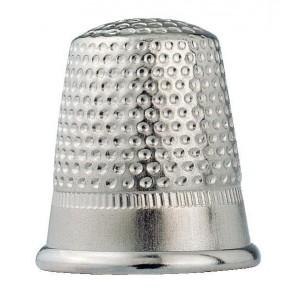 Fingerhut Stahl silberfarbig, 15mm (2)
