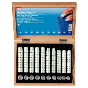 Fingerhutkassette Holz/100Stk