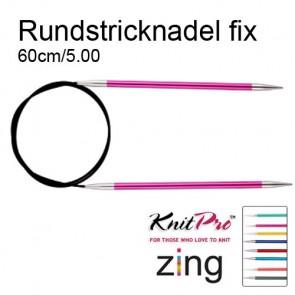 KP Zing Rundstrickndl 60cm 5.00mm
