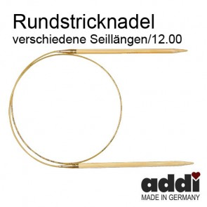 Rundstric.ADDI Bambus  12,0