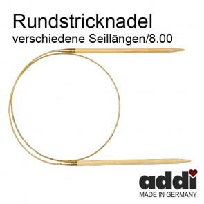 Rundstric.ADDI Bambus  8,0