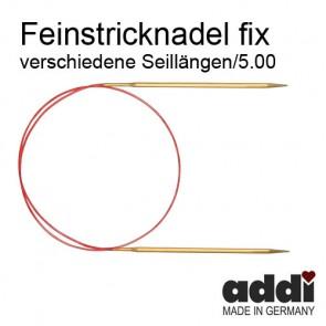 Fein-Rundstrickndl.ADDI  5,0