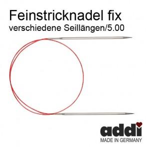 Fein-Rundstrickndl.ADDI  nick. 5,0