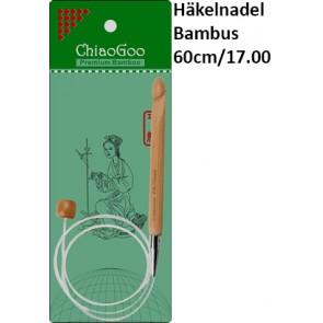 ChiaoGoo Häkeln. Bambus Seillänge 60cm/17.00
