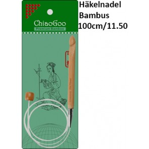 ChiaoGoo Häkeln. Bambus Seillänge 100cm/11.50