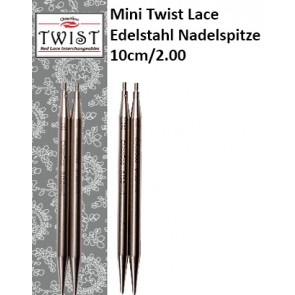 ChiaoGoo Mini Twist Lace Edelstahl Nadelspitze 10cm/2.00