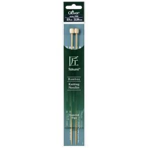 CLOVER Jackenstrickndl. Bambus Takumi 23cm/2.25mm