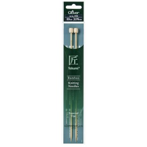 CLOVER Jackenstrickndl. Bambus Takumi 23cm/2.75mm