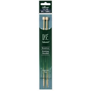CLOVER Jackenstrickndl. Bambus Takumi 23cm/3.25mm