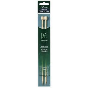 CLOVER Jackenstrickndl. Bambus Takumi 23cm/3.75mm
