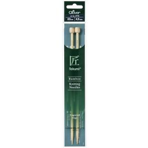 CLOVER Jackenstrickndl. Bambus Takumi 23cm/4.50mm
