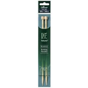 CLOVER Jackenstrickndl. Bambus Takumi 23cm/5.00mm