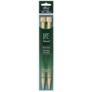 CLOVER Jackenstrickndl. Bambus Takumi 23cm/10.00mm