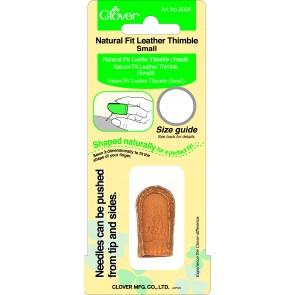CLOVER Lederfingerhut natürliche Passform klein
