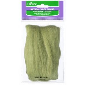CLOVER Natur-Filzwolle moosgrün