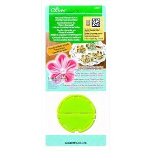 CLOVER Kanzashi-Blumen-Schablone Orchidee/kl. Größe