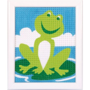 VER Stickbilderpackung Frosch
