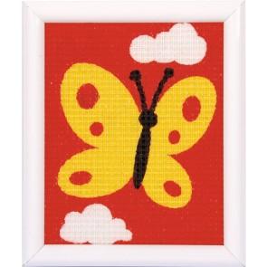 VER Stickbilderpackung Gelber Schmetterling