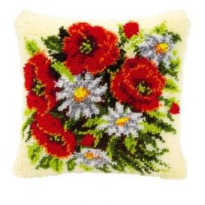 VER Knüpfkissenpackung Blumenstrauß