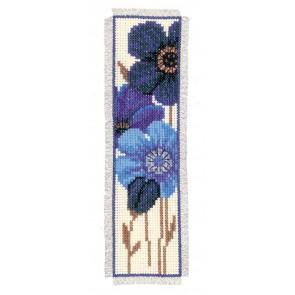 VER Lesezeichenpackung Blaue Anemonen