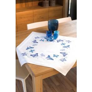 VER Bedruckte Deckepackung Blaue Schmetterlinge