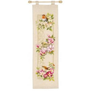 VER Bannerpackung Vögel auf Blütenzweigen