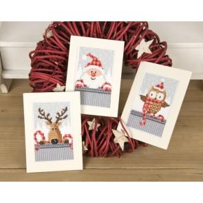 VER Grußkartenpackung Freunde von Weihnachten 3er Set