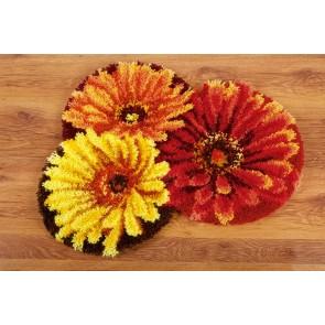 VER Formteppich Blumenteppich