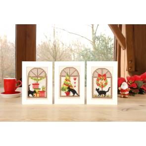 VER Grußkartenpackung Weihnachtsfreude 3er Set