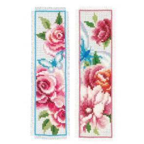 VER Lesezeichenpackung Blumen & Schmetterlinge 2er Set