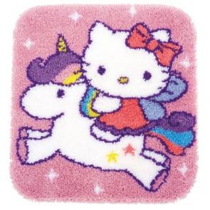 VER Formteppich Hello Kitty mit Einhorn
