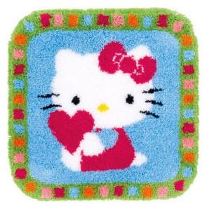 VER Formteppich Hello Kitty mit Herz