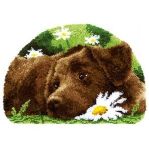 VER Formteppich Brauner Labrador
