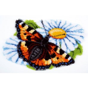 VER Formteppich Schmetterling