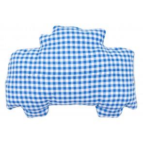 Kissenrücken mit Reißverschluss, blau, 45x62 cm