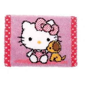 VER Knüpfteppich Hello Kitty mit Hund