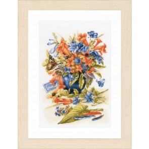LAN Blumenvase Zählst. 10,5 Fd/1 cm ws