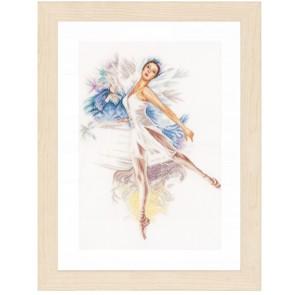LAN. Zählmusterpackung Ballerina 41x52cm
