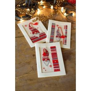 VER Grußkartenpackung Wichtel 3er Set