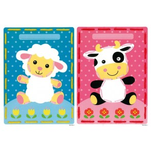 VER Stickkarten Schaf & Kuh 2er Set