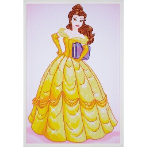 VER Diamond Painting Packung Disney Belle