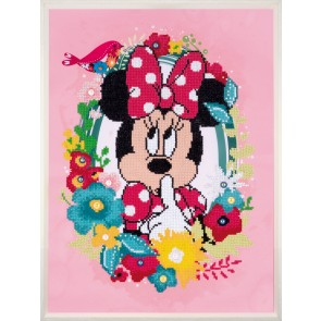VER Diamond Painting Packung Disney Minnie denkt