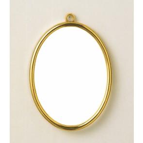 VER Kunststoffrahmen Gold Oval (p.1St)