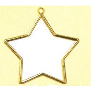 VER Kunststoffrahmen Gold Stern (p.1St)