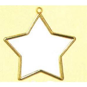 Goldrahmen Stern        7x7cm