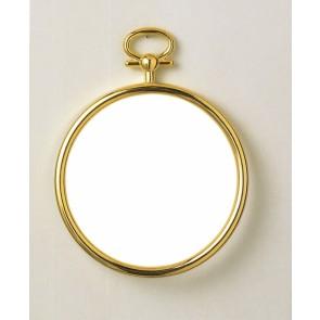 Rahmen gold, rund  7cm